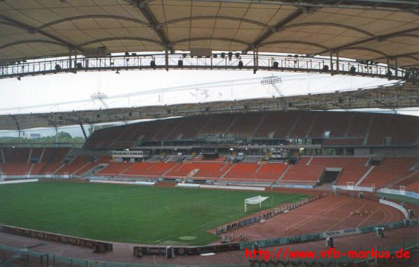 Stuttgart - Gottlieb-Daimler-Stadion